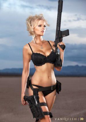 Vanquish Magazine – Girls With Guns – Sierra Rene