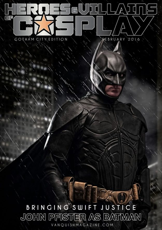 Heroes And Villains Of Cosplay – Issue 1 – Batman