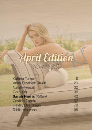 Vanquish Magazine – April 2016 – Sarah Harris