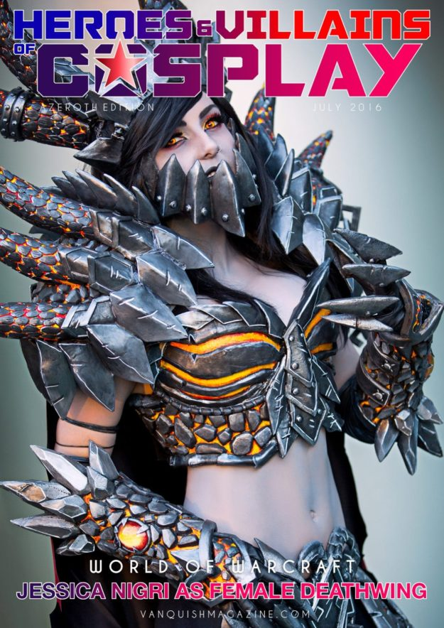 Heroes And Villains Of Cosplay – Issue 2 – Female Deathwing
