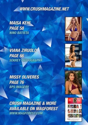 Crush Magazine – December 2016 – Part 1 – Jenna Nicole