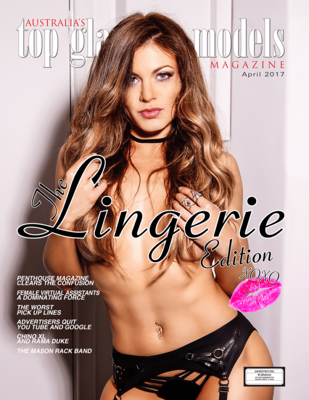 April Australia's Top Glamour Models Magazine West Coast Edition