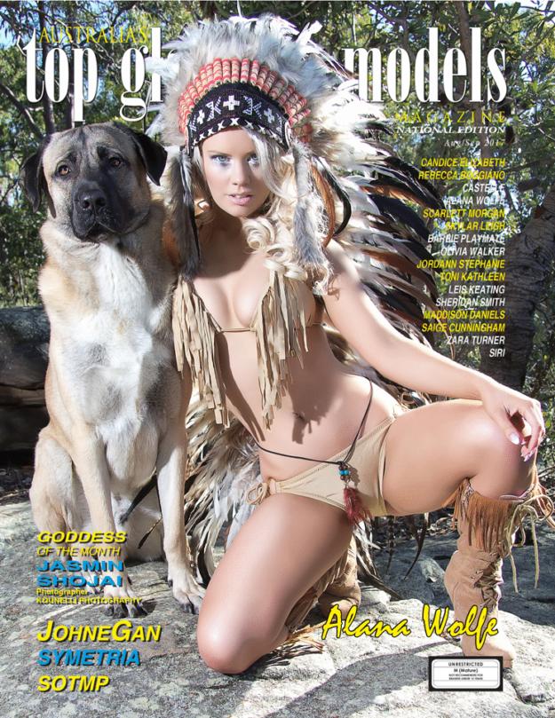 Australia's Top Glamour Models Magazine – Aug – Sept 2017