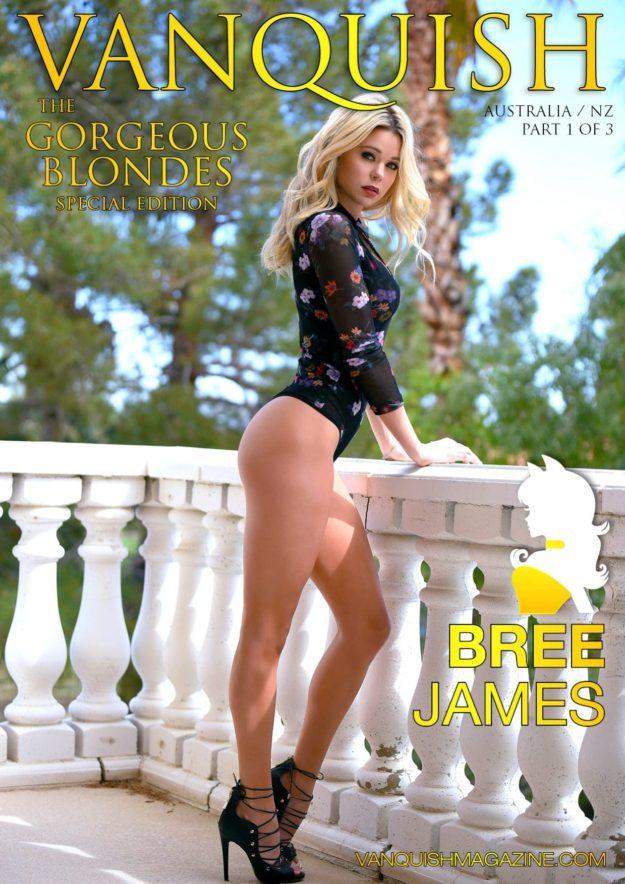 Vanquish Magazine – Gorgeous Blondes – Bree James