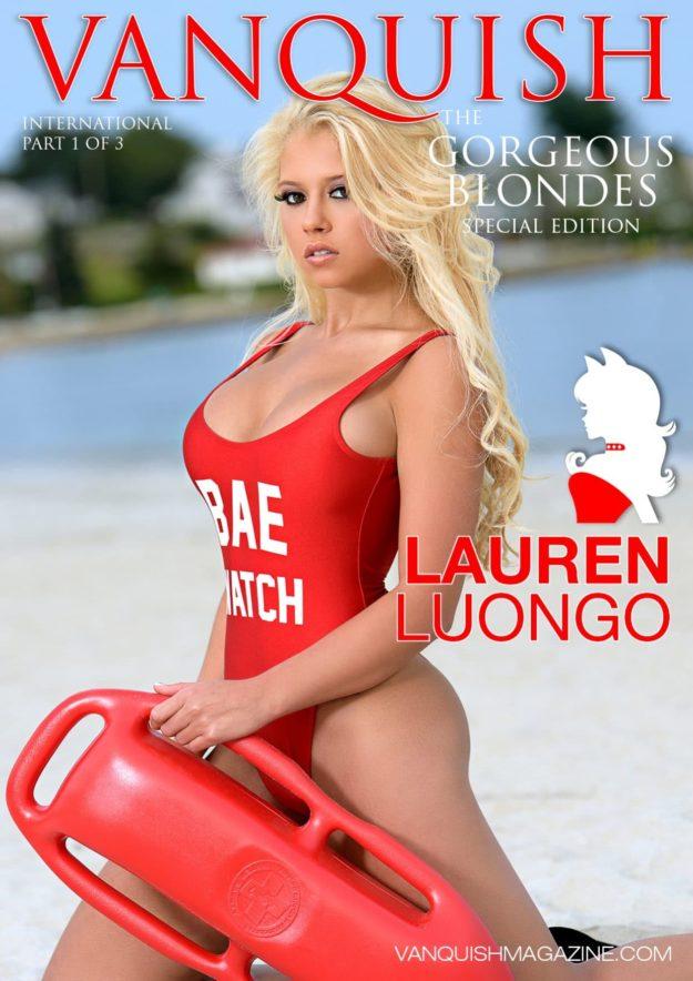 Vanquish Magazine – Gorgeous Blondes – Lauren Luongo