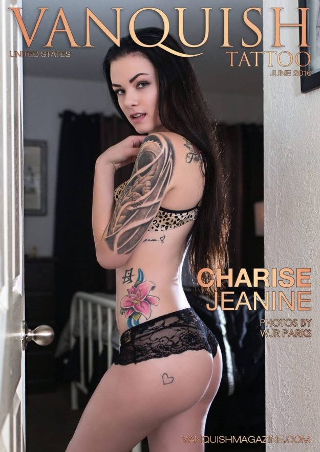 Vanquish Tattoo Magazine – June 2016 – Charise Jeanine