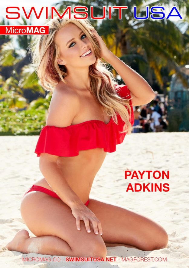 Swimsuit Usa Micromag – Payton Adkins – Issue 3