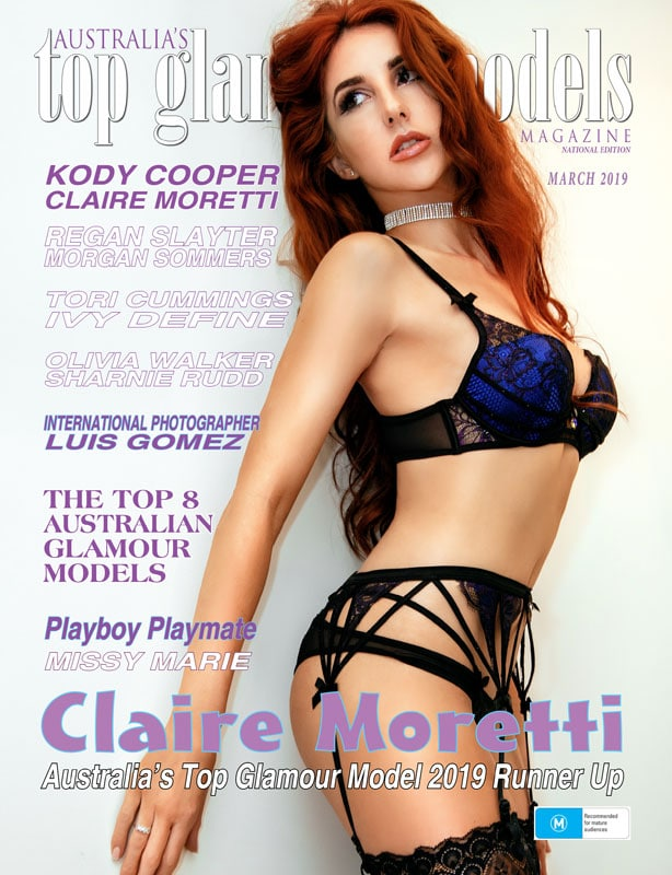 Australia's Top Glamour Models – March 2019 – Claire Moretti