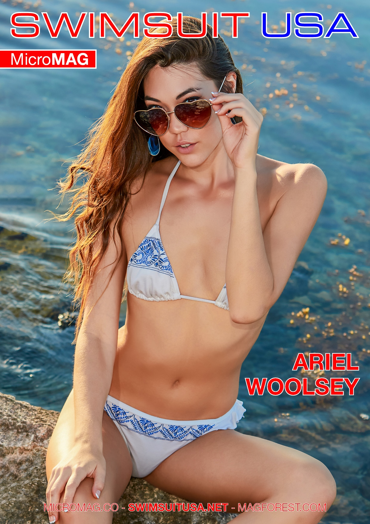 Swimsuit Usa Micromag – Ariel Woolsey – Issue 1