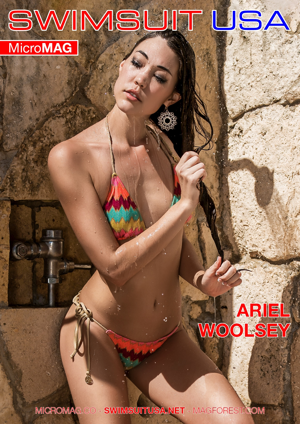 Swimsuit Usa Micromag – Ariel Woolsey – Issue 3