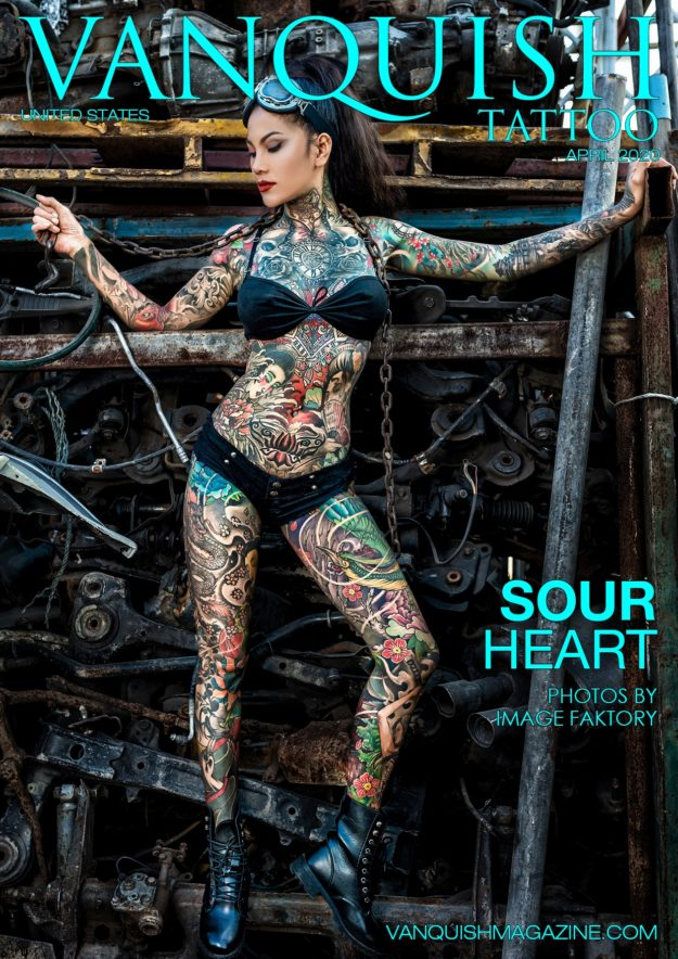 Vanquish Tattoo – April 2020 – Sour Heart