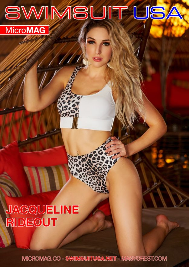 Swimsuit Usa Micromag – Jacqueline Rideout – Issue 3
