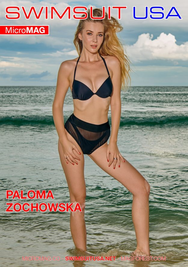 Swimsuit Usa Micromag – Paloma Zochowska – Issue 2