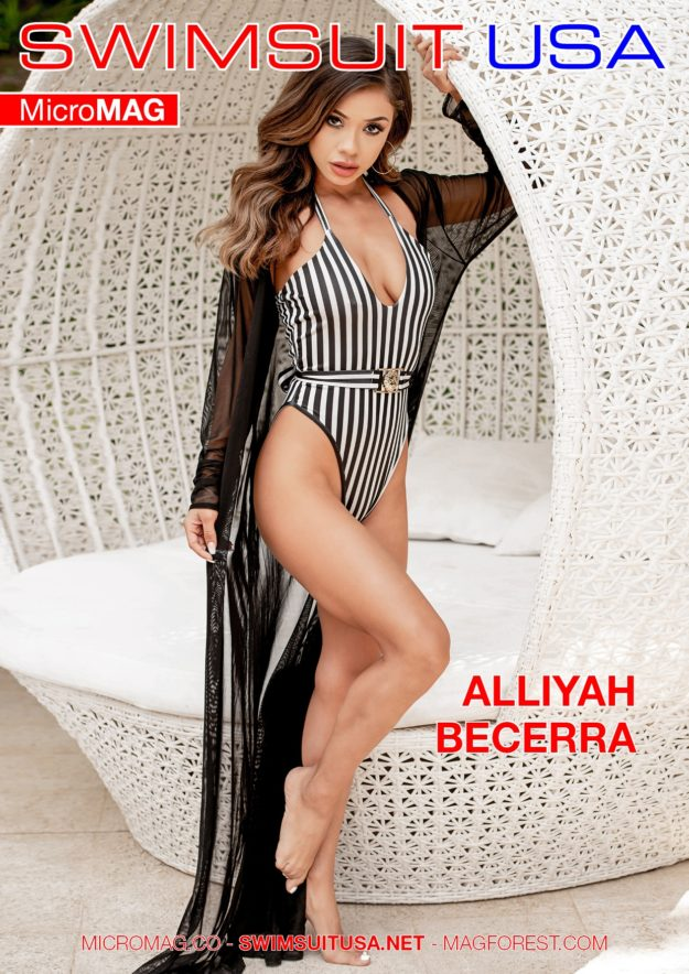 Swimsuit Usa Micromag – Alliyah Becerra – Issue 5