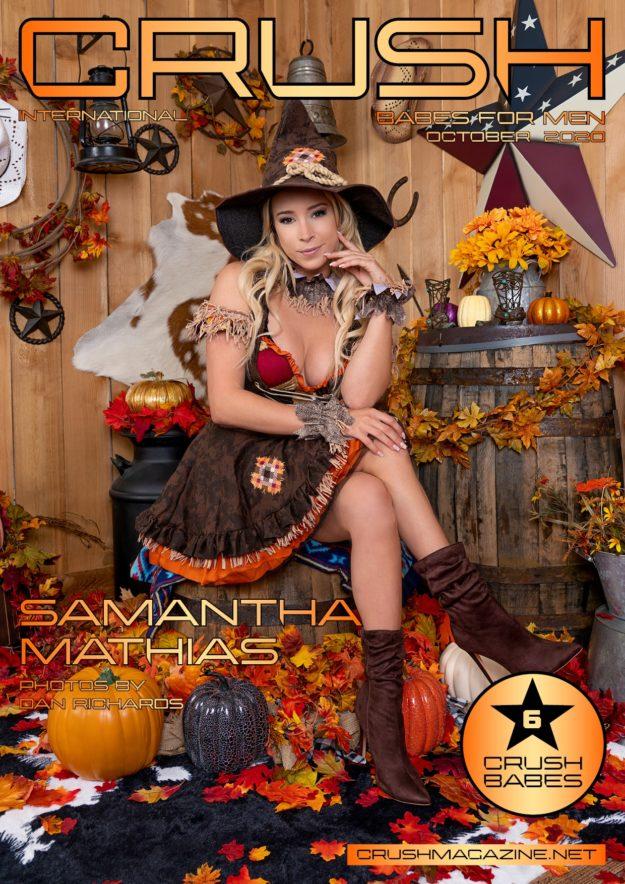 Crush Magazine – October 2020 – Samantha Mathias