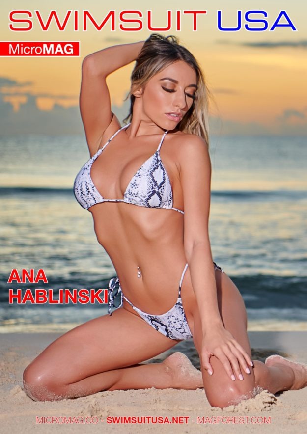 Swimsuit Usa Micromag – Ana Hablinski – Issue 8